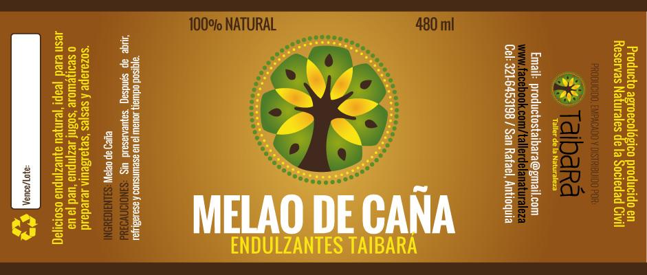Etiquetas Melao de Caña Taibara
