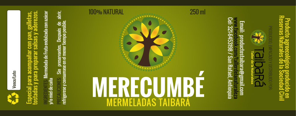 Etiquetas Merecumbe Taibara