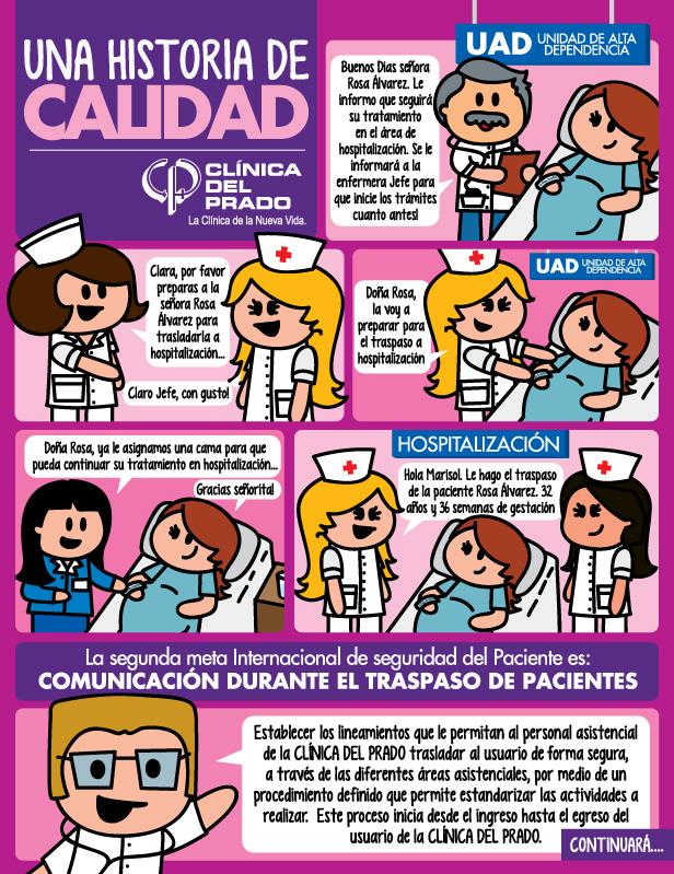 Historieta Una historia de Calidad Clinica del Prado 0